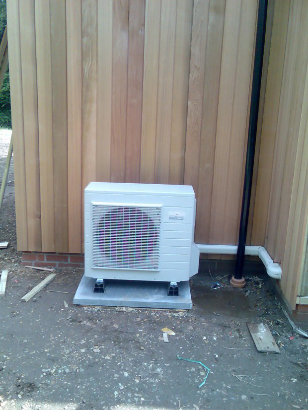 Air Source Heat Pump Fully Installed