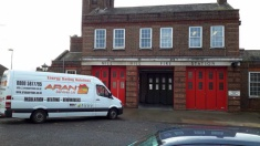 Our team ready to Insulate London Fire Stations