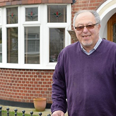 Retired senior hotel officer John Davies has lived in his Clacton home for 14