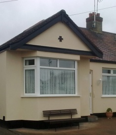 External Wall Insulation - Before Brick Work Finish