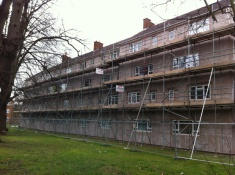External Wall Insulation - Block of Flats