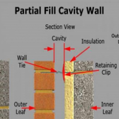 Partial Fill Cavity Wall Insulation