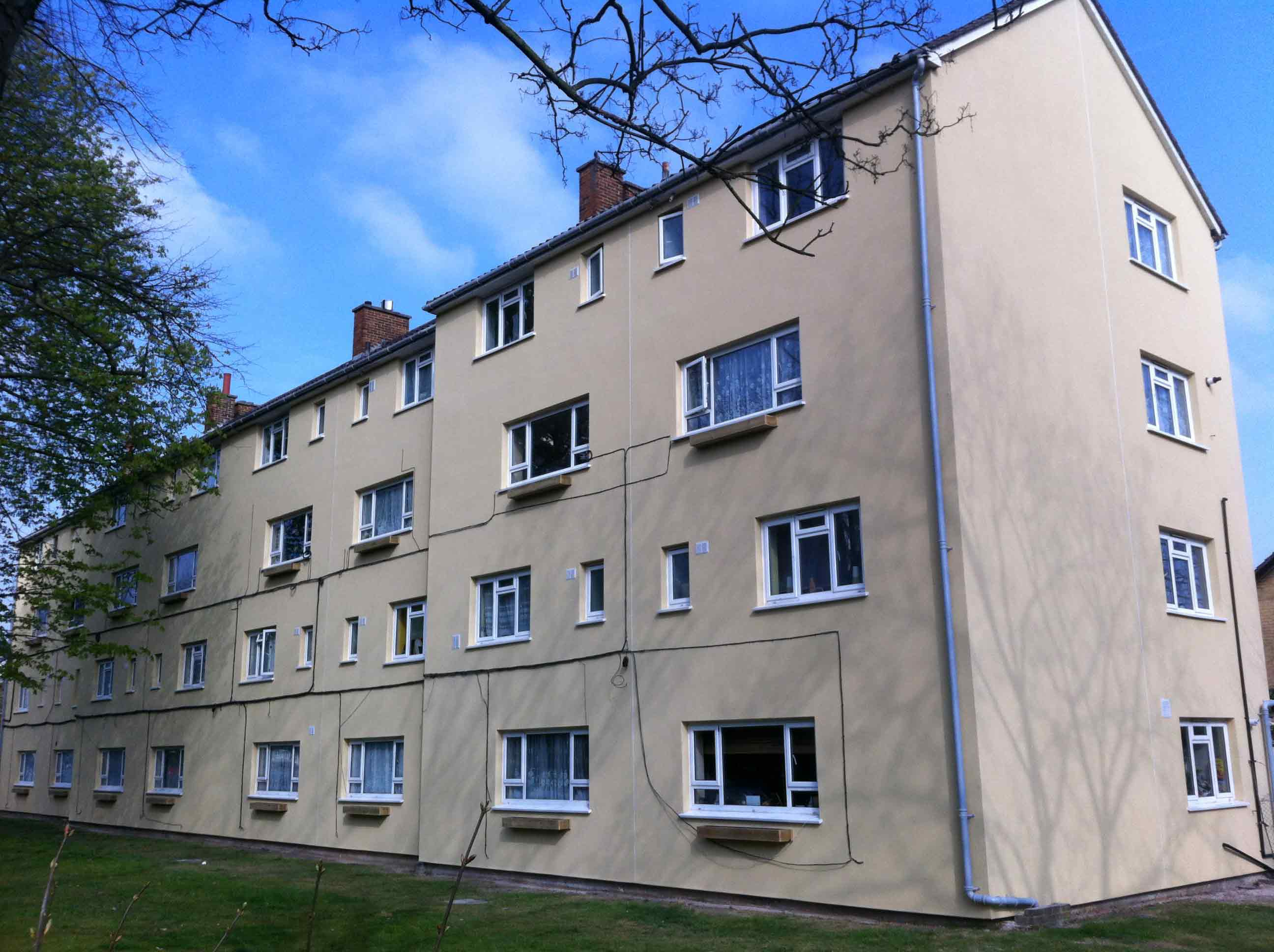 After Insulation - Block of flats