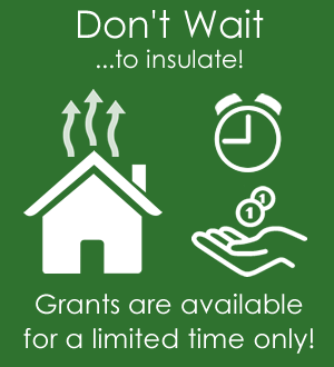 Don't Wait to Insulate