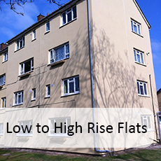 Low to High Rise Flats