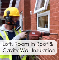 Loft, Room in Roof and Cavity Wall Insulation