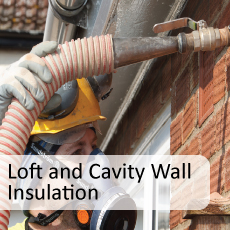 Loft, Room in Roof & Cavity Wall Insulation